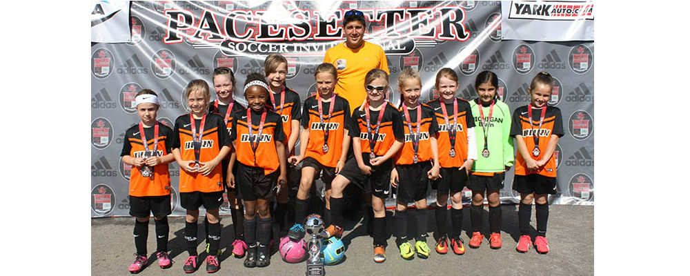 U8-U9 Girls Finalists at Pacesetter Invitational!
