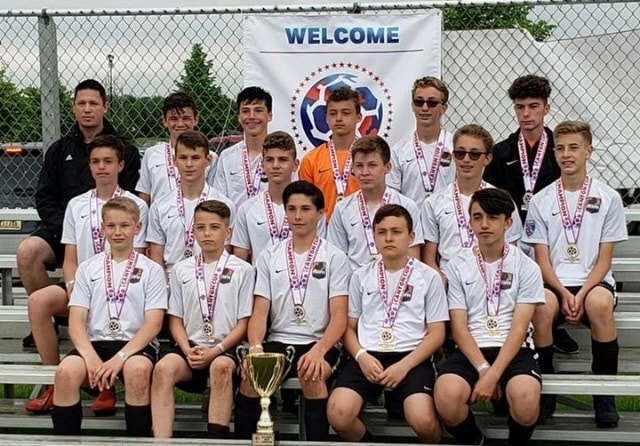 05 Black U14 Boys are 2019 Canton Cup Champions